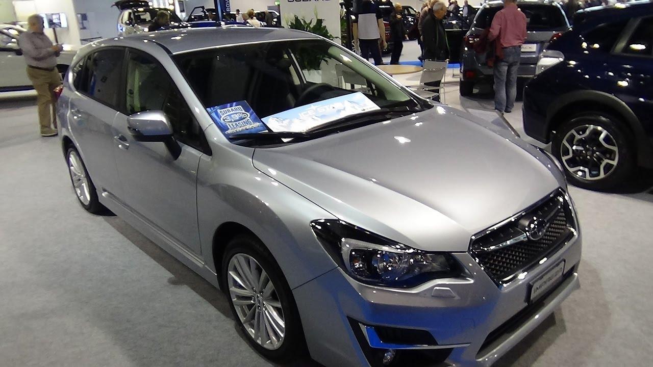 2017 subaru impreza sport manual interior