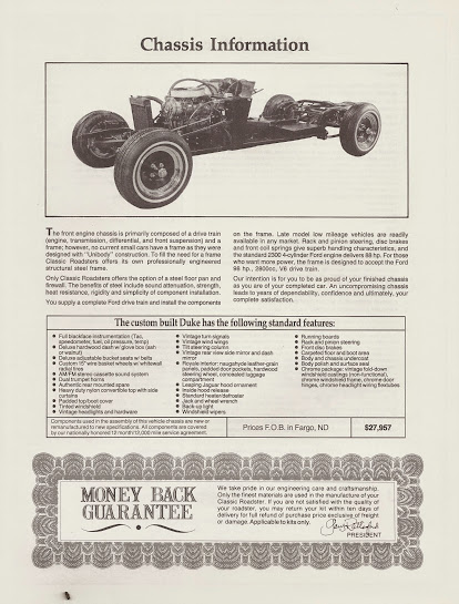 classic roadsters duke assembly manual