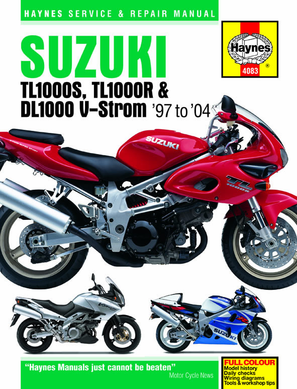 2006 Suzuki Dl1000 Service Manual
