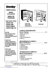 danby dehumidifier ddr557he user manual