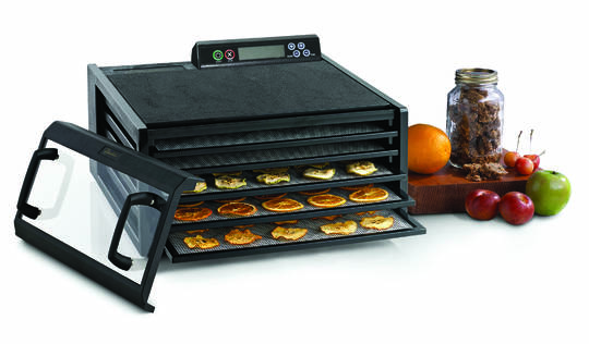 salton 5 tray food dehydrator manual