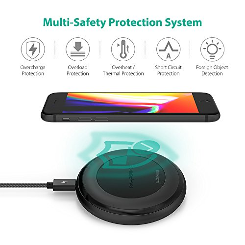 ravpower fast wireless charger manual