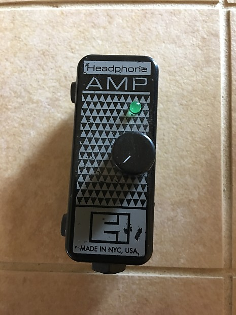 electro harmonix headphone amp manual