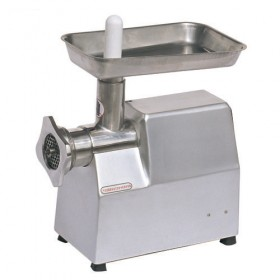 polished stainless steel manual meat grinder