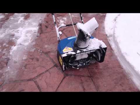 hand powered manual snow blower shovel einhell msf 570