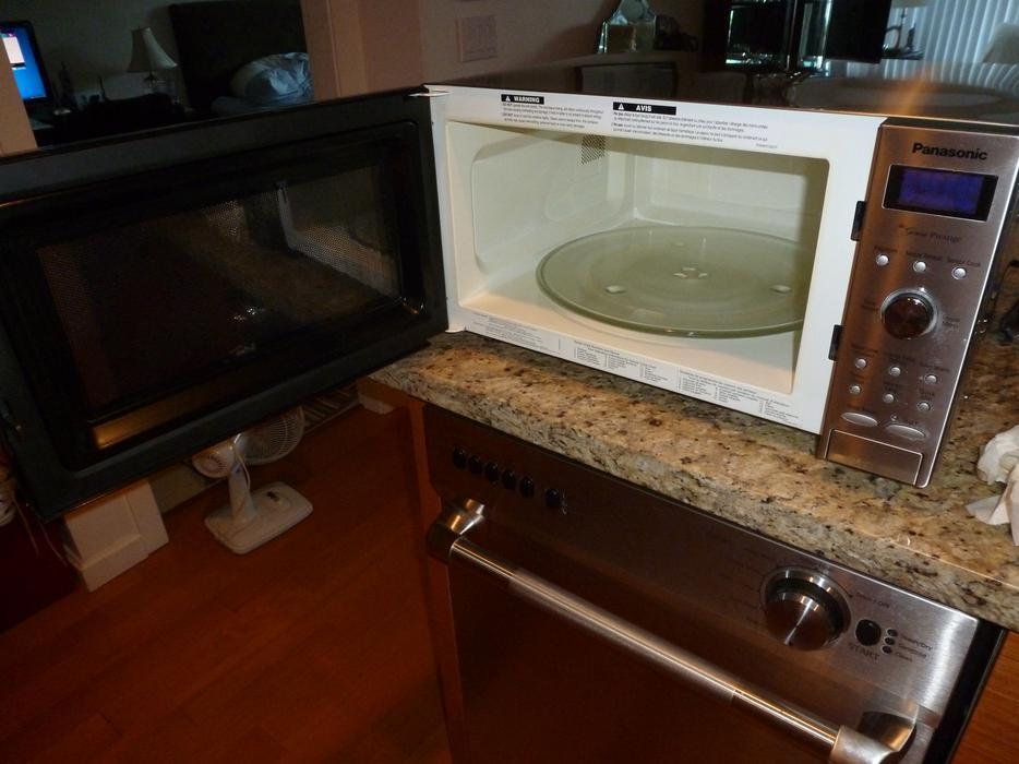 manual panasonic genius prestige microwave