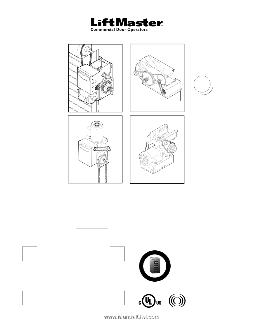 installation manual for liftmaster 8355w-267