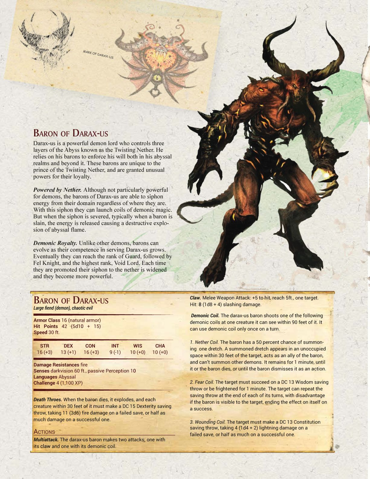 d&d 5e mage monster manual