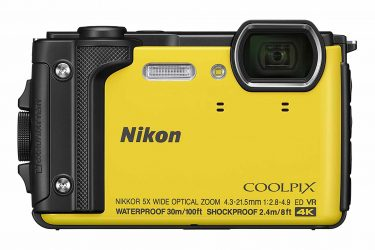 nikon camera coolpix yellow aw130 manual