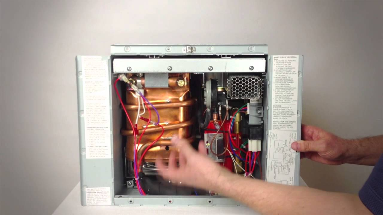 rv-550 tankless water heater manual