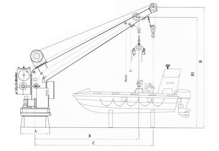 slewing arm davit tech manual