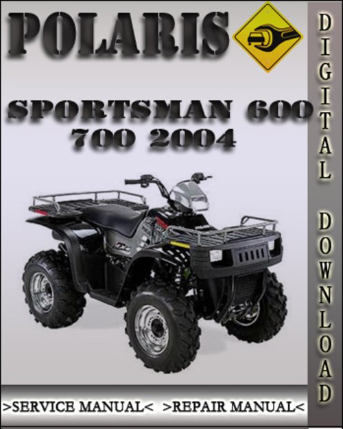 polaris 700 sportsman repair manual pdf
