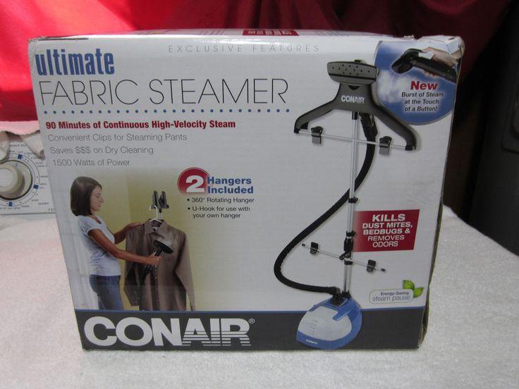 conair fabric steamer model gs08wdc manual