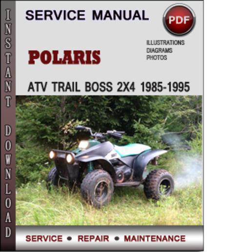 1985 polaris trail service manual