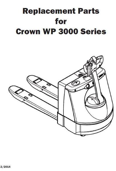 crown electric pallet jack parts manual