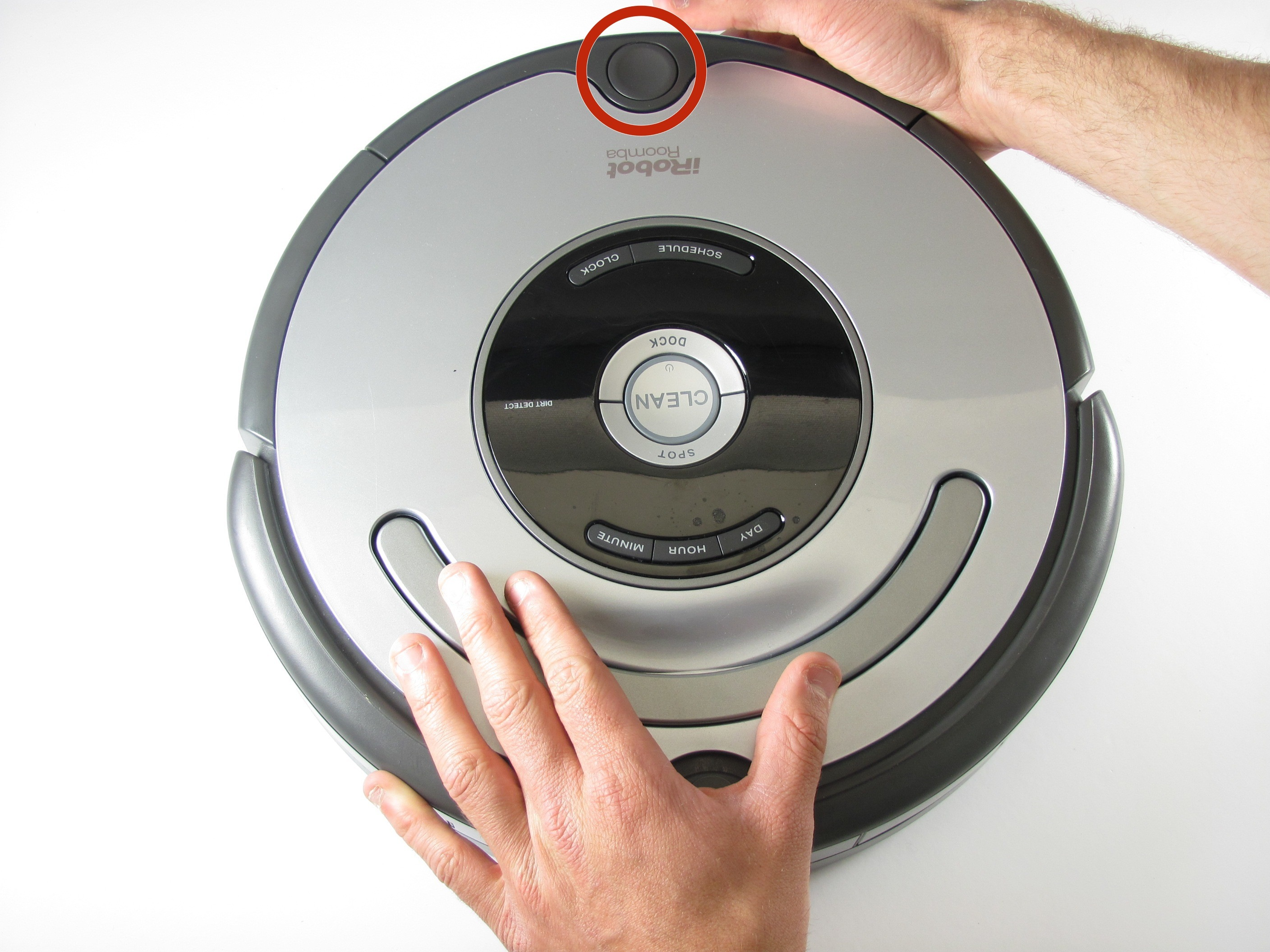 irobot roomba 400 owners manual