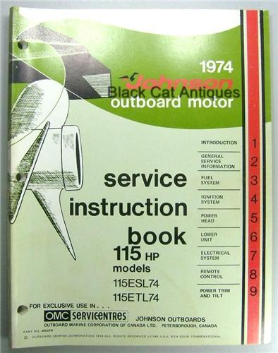 johnson model j15rcsd owners manual
